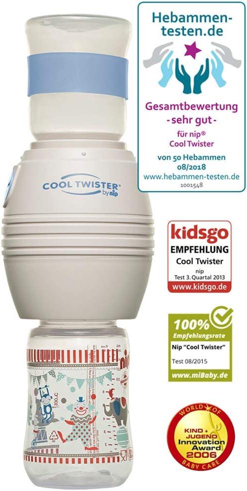 Nip Cool Twister/ /Enfriador de biber/ón Incluye 2/x Chupete Edici/ón Especial////2/x Cubierta Protectora