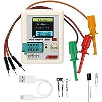 Transistor Tester, Colorful Display Pocketable Multifunctional TFT Backlight Transistor TC-T7-H Tester for Diode, Triode…