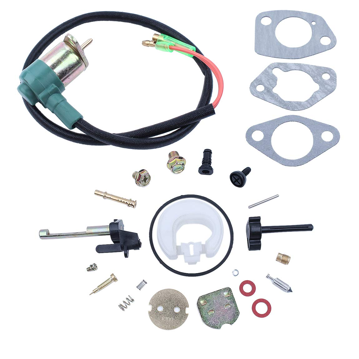 Carburetor Carb Solenoid Gasket Repair Kit Fit Honda GX390 GX 390 Chinese 188F 13HP Gasoline Engine Motor Generator