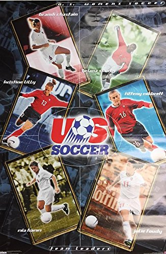 - Buyartforless 2000 US Womens Soccer Team Leaders 35x23 Sports Poster, Print, Decorative Accent, Wall Art Multi-Color