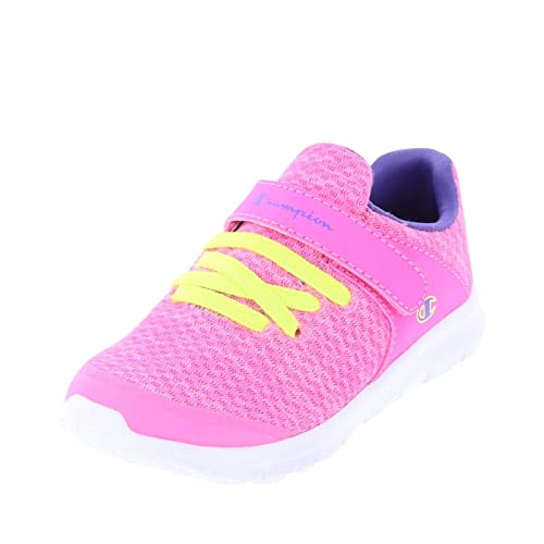 fb1f212c7a8 Champion Pink Purple Girls  Toddler Sockfit Strap Runner 5 Regular   Amazon.ca  Shoes   Handbags