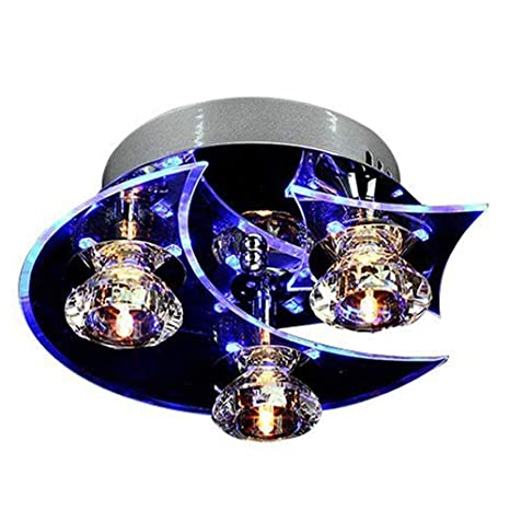 separation shoes d8526 6aad5 GaGa Moon Star Retro Crystal G4 LED Chandelier Ceiling Light ...