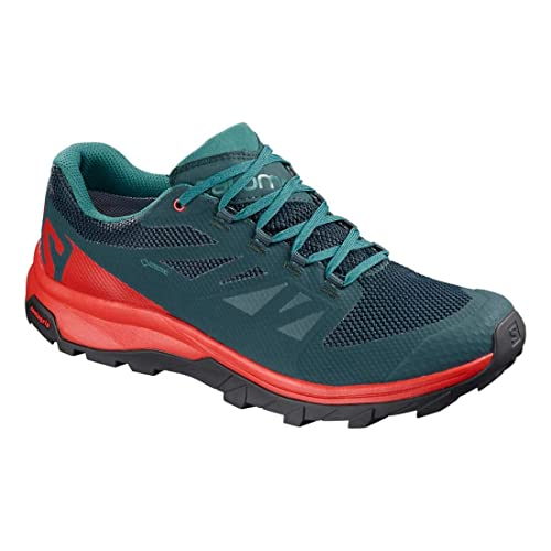 SALOMON Outline GTX Marino Celeste L40619100: Amazon.es: Zapatos y complementos