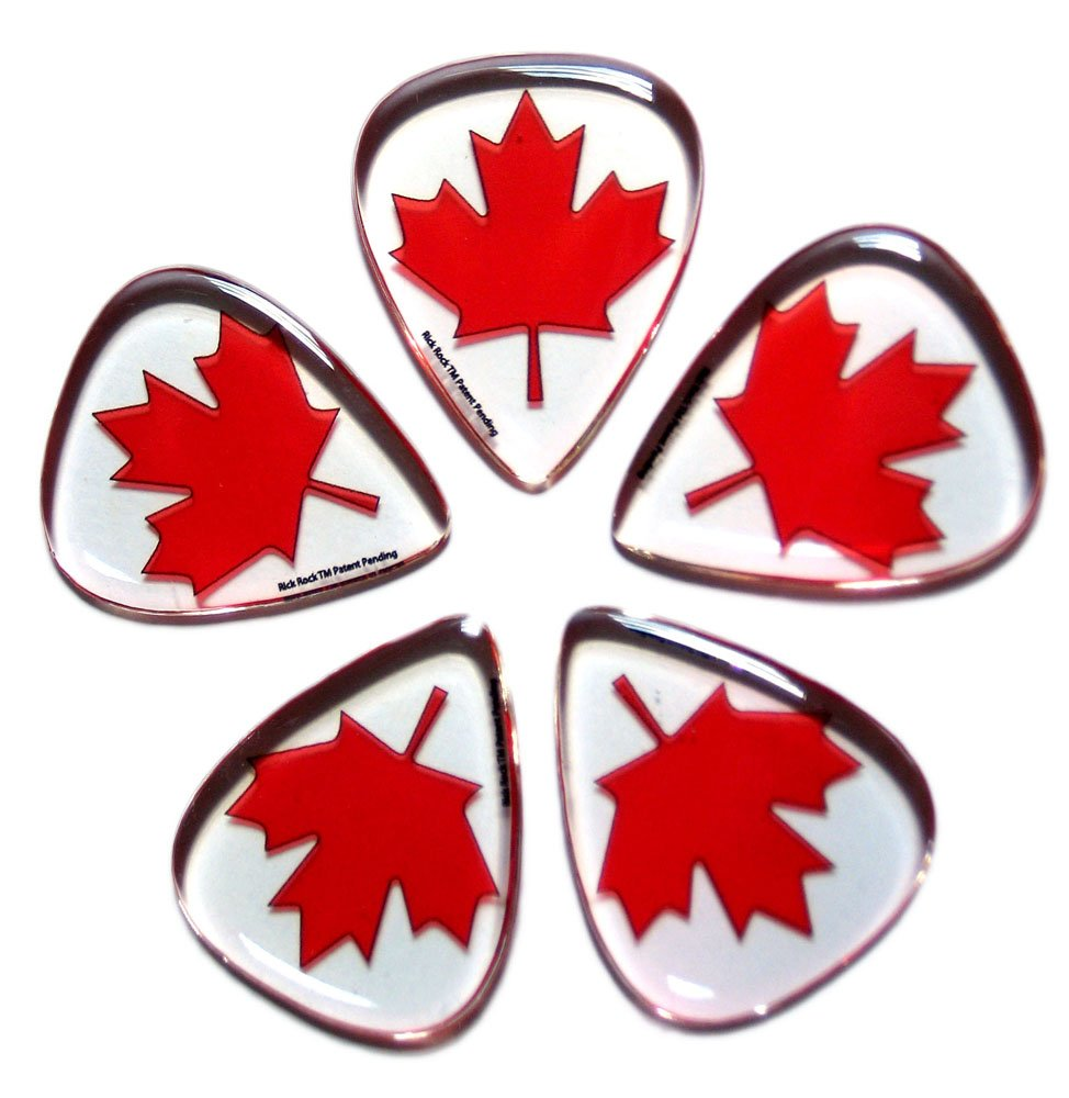 Rick Rock RGP1-2 Rick Rock Guitar Picks, Canada Zoogee World Inc.