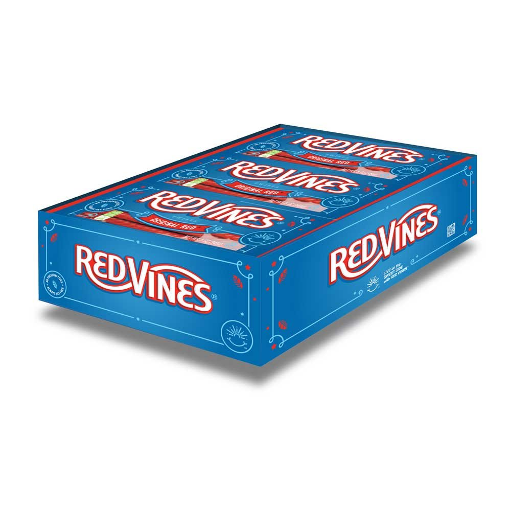 Red Vines Original Red Twists - 5 oz. tray, 12 per case by American Licorice