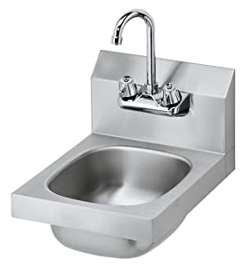 "Stainless Steel NSF Hand Sink 10"" X 14"""