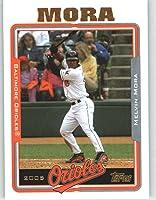 2005 Topps Baseball Card # 48 Melvin Mora Baltimore Orioles