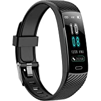 Fitness Trackers-Activity Tracker Watch with Heart Rate Blood Pressure Monitor, Waterproof Watch with Sleep Monitor…