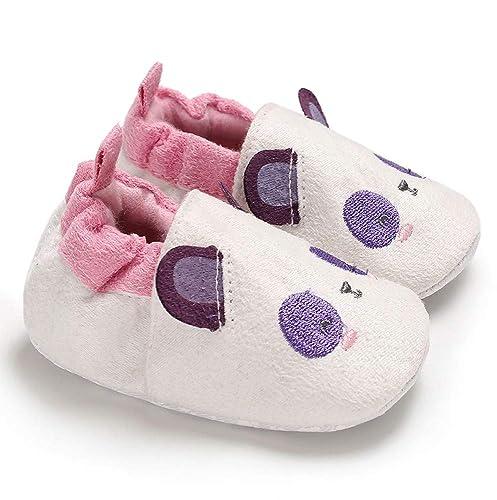 Pasos Zapatos De Bebé, Amphia Bebé Botines Suaves De Dibujos Animados Zapatos Antideslizantes Nieve Zapatos De Piso Animales Prewalker Zapatos CáLidos ...