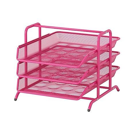 IKEA - DOKUMENT bandeja, Rosa