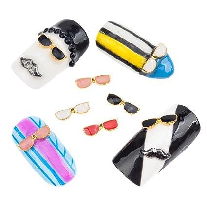 20 adornos nail art gafas de sol Colores Cristal Piedras ...