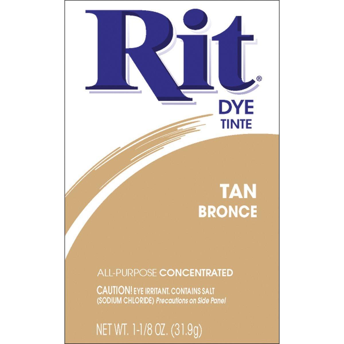 Rit Powder Dye Tan 1.125 Ounces