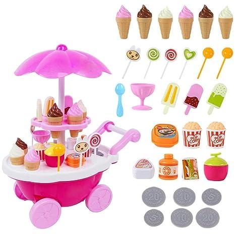 Set coni gelato gelateria kit gioco di qualità giocattolo toy