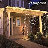 Battery Operated Waterproof Fairy Lights with 10M 100 Warm White LEDs Bild 1