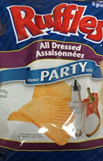 product image for Lay's Ruffles Potato Chips, All Dressed, 340 Grams/12 Ounces - 3 Pack