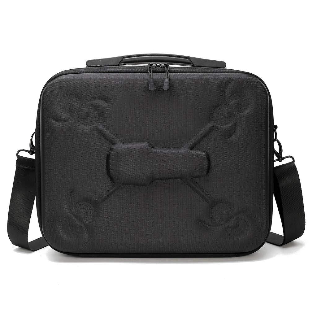 Tuu Waterproof Portable Storage Bag Carry Case for DJI Mavic 2 & Smart Controller (Black)