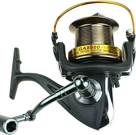 Carrete de la pesca Carrete Pesca Spinning 11 + 1 rodamientos ...