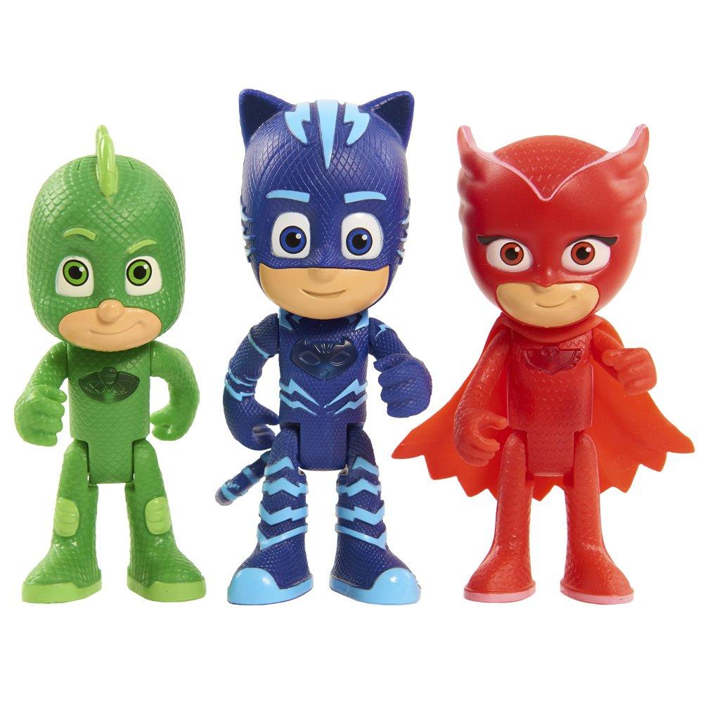 PJ Masks - Figura con luz Gekko (Bandai 24548): Amazon.es: Juguetes y juegos