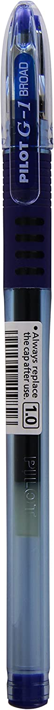 color azul Pilot BLGP-G1-10 punta de 1,0 mm, trazo de 0,6 mm Bol/ígrafo Rollerball con Grip