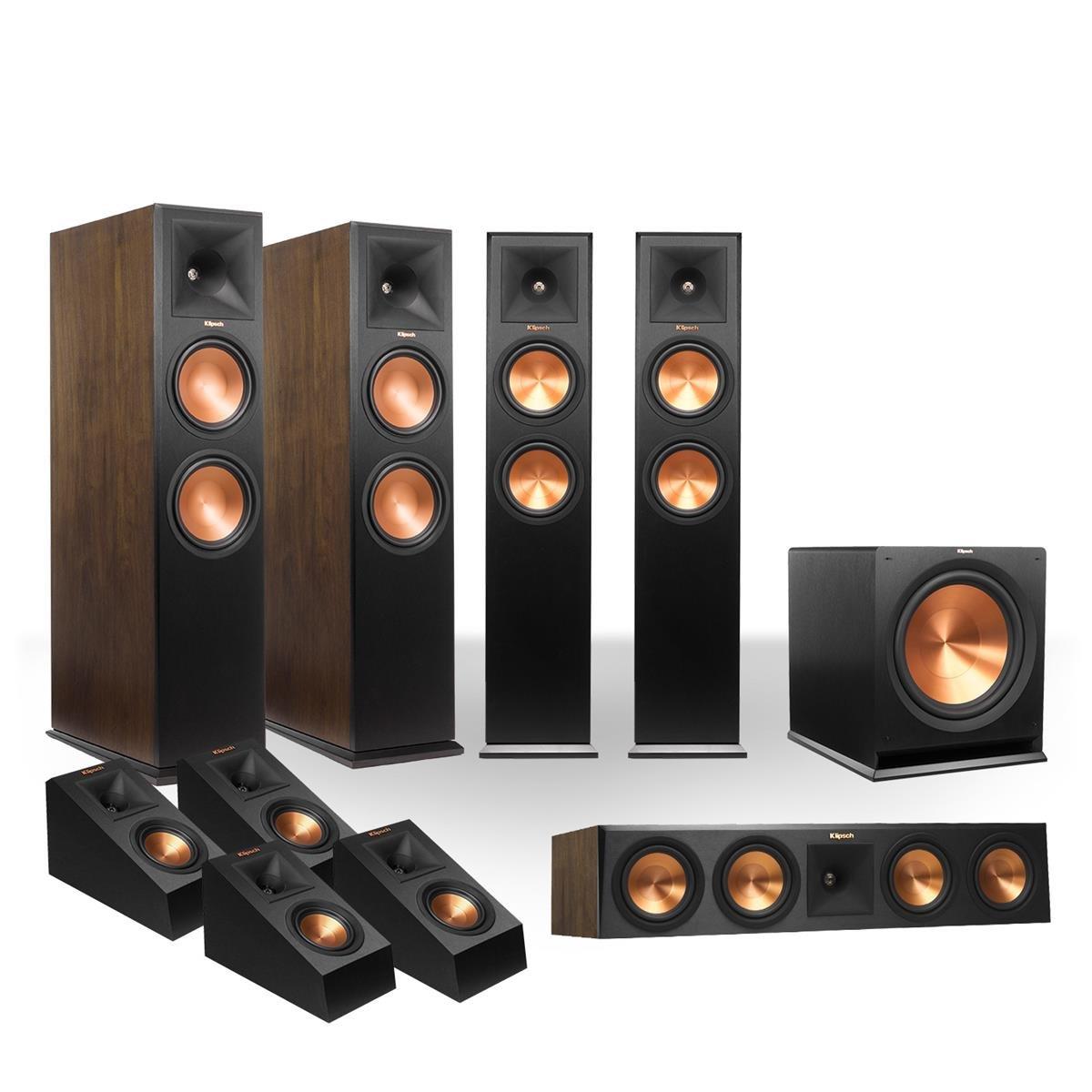 Klipsch rp-280 5.1.4 Dolby Atmosシステム(ブラック) B0189NDJBQ