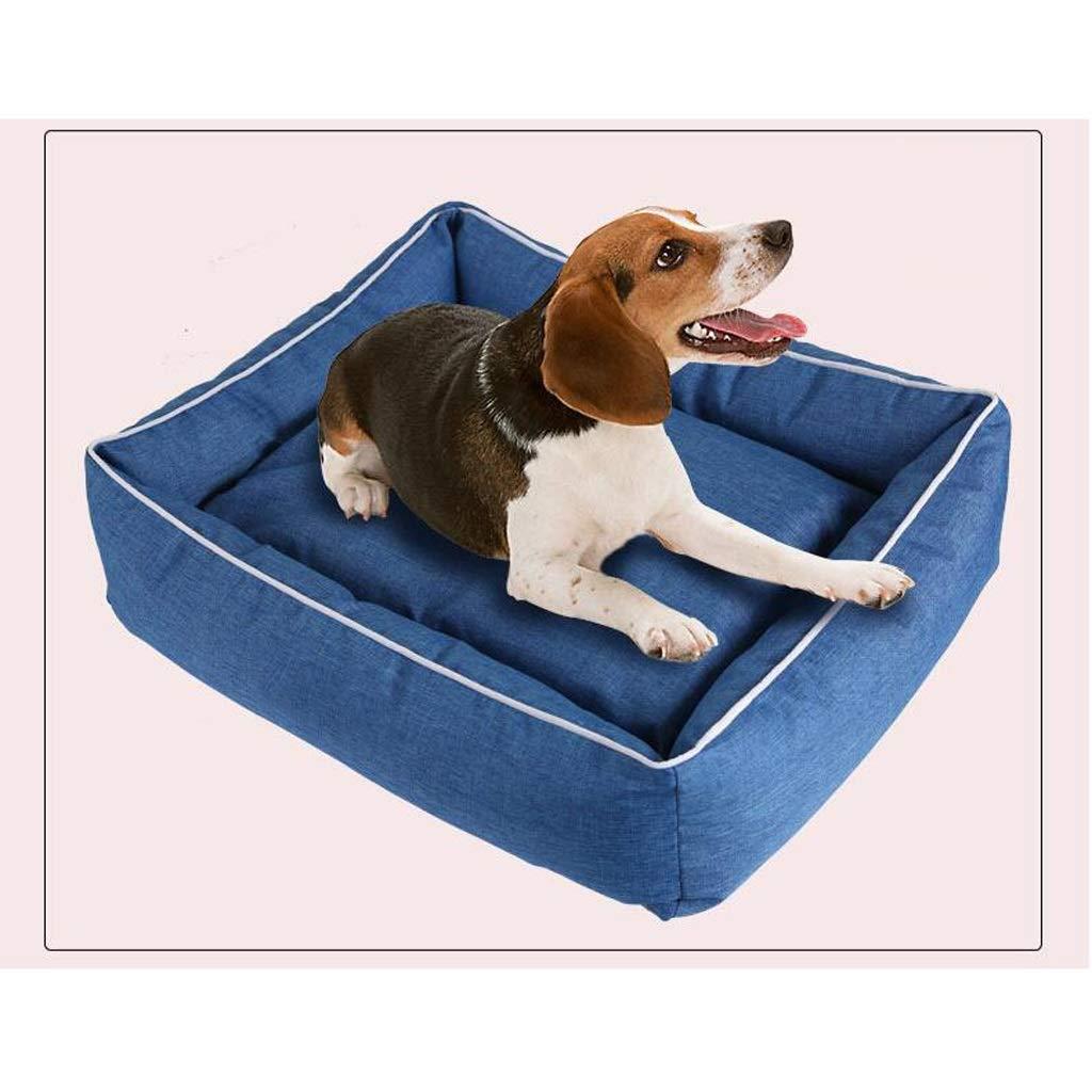 qualità autentica PLDDY All Pet Pet Pet Solutions Caldo Letto per Cani di Lusso, Hound ComfortBed, Blu (Dimensioni   L.)  fino al 70% di sconto