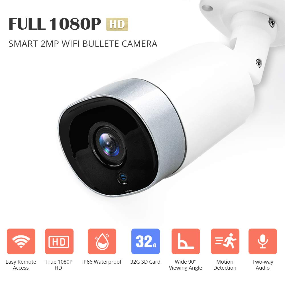 DEFEWAY Fake Security PTZ Camera Perfect for Home /& Businesses Security Dummy Dome Shaped Realistic Look Surveillance Camera with Flashing Red LED Light