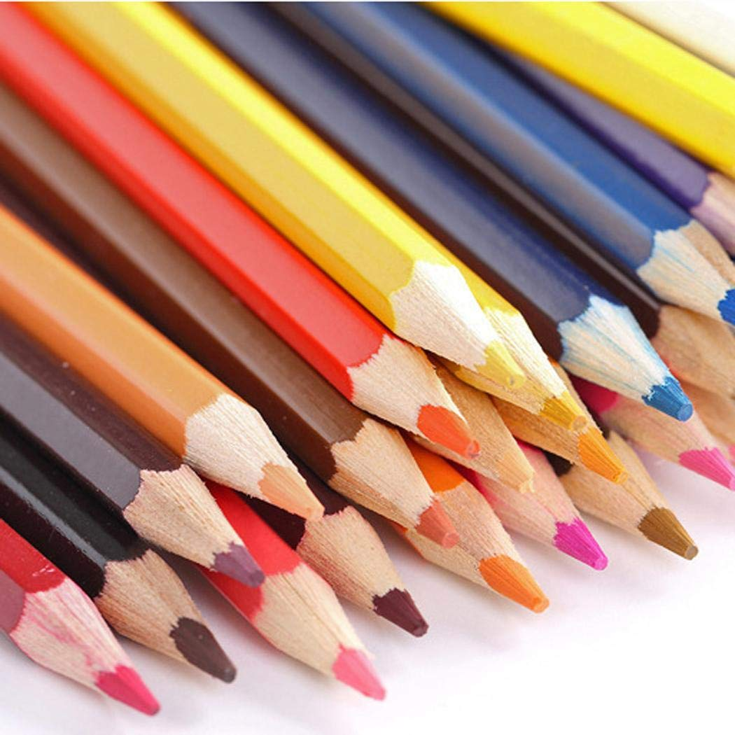 Lantusi 72 Colors Safe Water Soluble Colored Drawing Pencil Set Mechanical Pencil Leads by lantusi (Image #6)