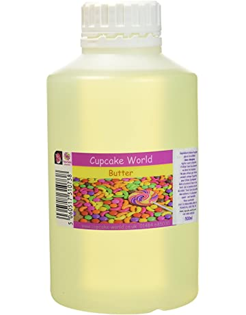Cupcake World Aromas Alimentarios Intenso Mantequilla - 500 ml