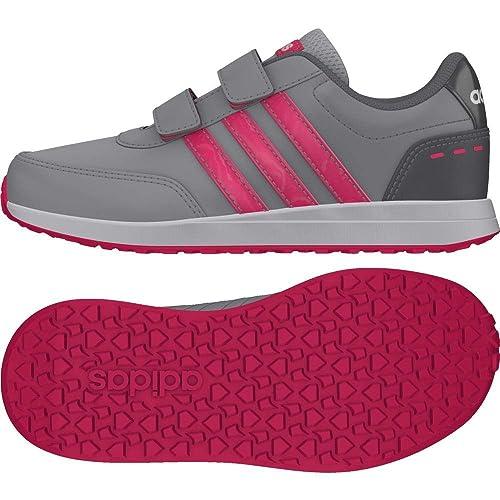 cheap for discount d5a68 f6986 Adidas Vs Switch 2 CMF C, Zapatillas de Deporte Unisex para Niños, Gris (