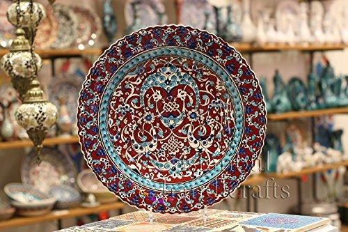 Iznik Design Ceramic Plate - 40 Cm/16 '' (Imperial Plate Of Persia compare prices)