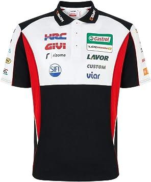 LCR Honda Moto GP Racing Team Custom Polo Camisa Oficial 2019 ...