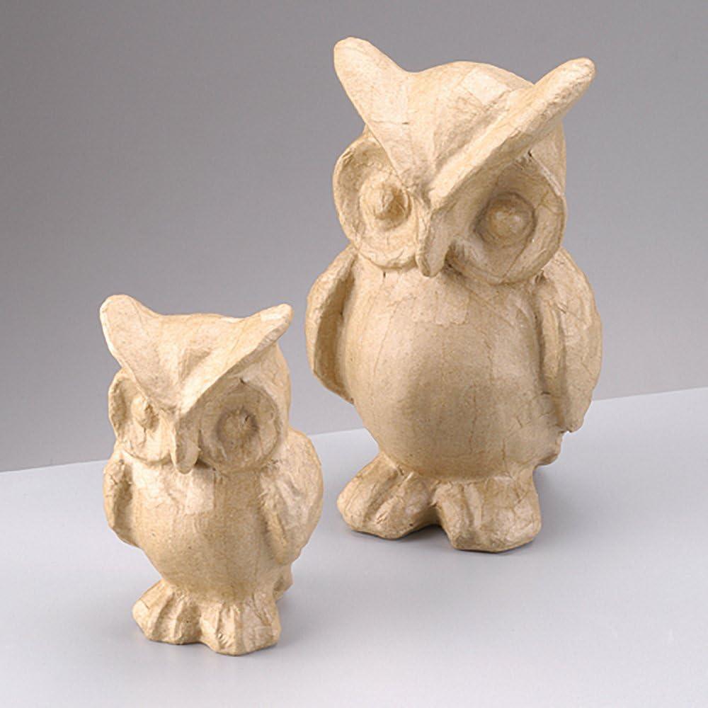 Amazon Com 140mm Paper Mache Owl To Decorate Papier Mache Shapes