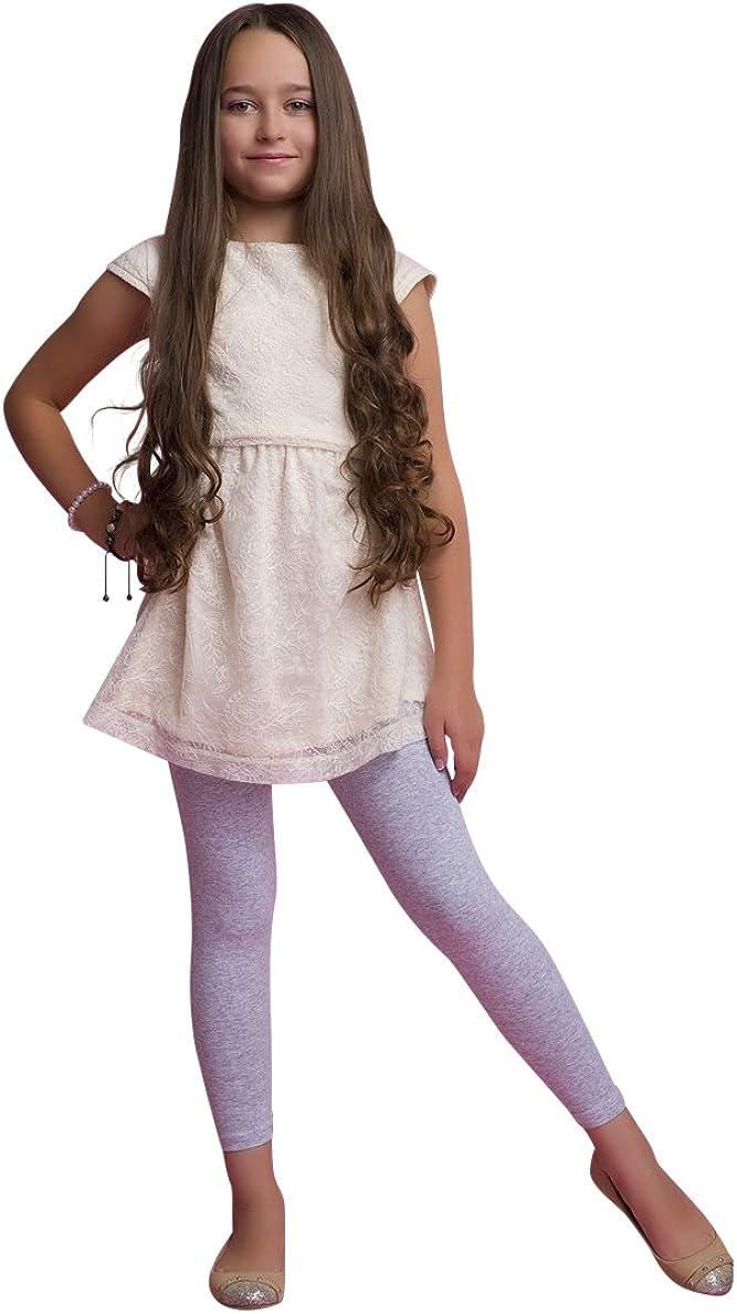 5 Years, Navy Ossa Girls Cotton Full Ankle Length Leggings