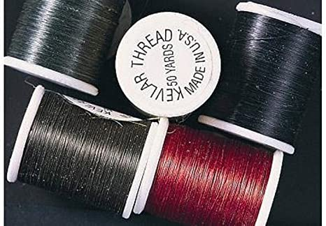 KEVLAR THREAD 50 Yd Spool  Fly Tying ....1 spool quantities /& colors available