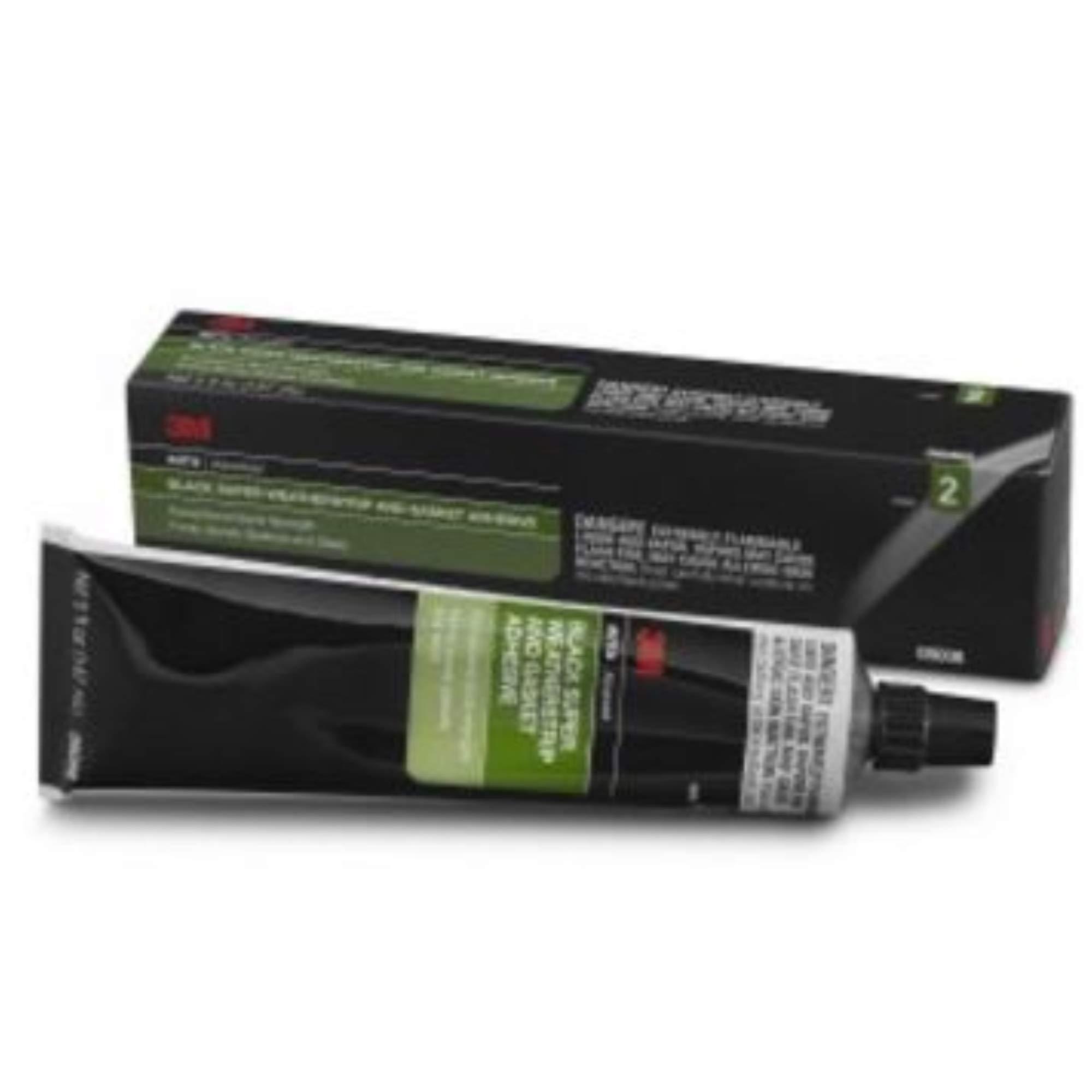 3m Weatherstrip & Gasket Super Adhesive 5oz Tube BLACK