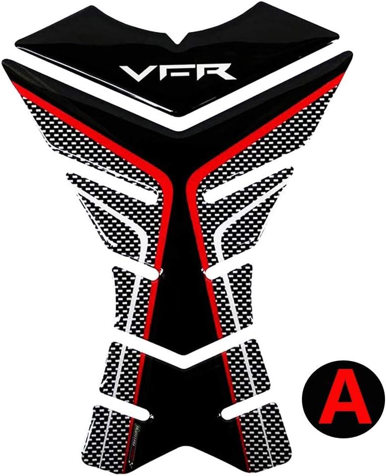 Color : A Caso Adesivi Moto 3D rilievo del carro armato della decalcomania della protezione for Honda VFR 800 800F 800X 1200 1200F 1200X 400 Serbatoio