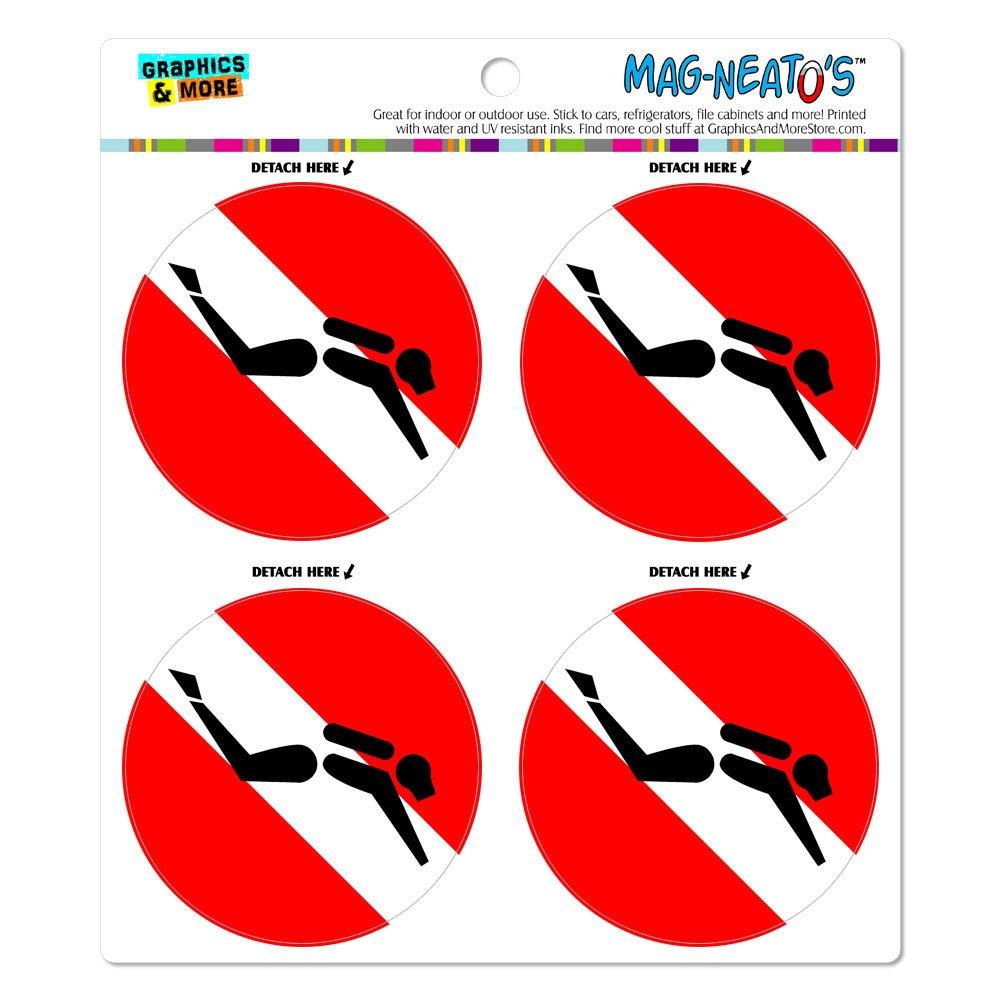 De la bandera de buceo de buceo símbolo mag-neato (TM ...