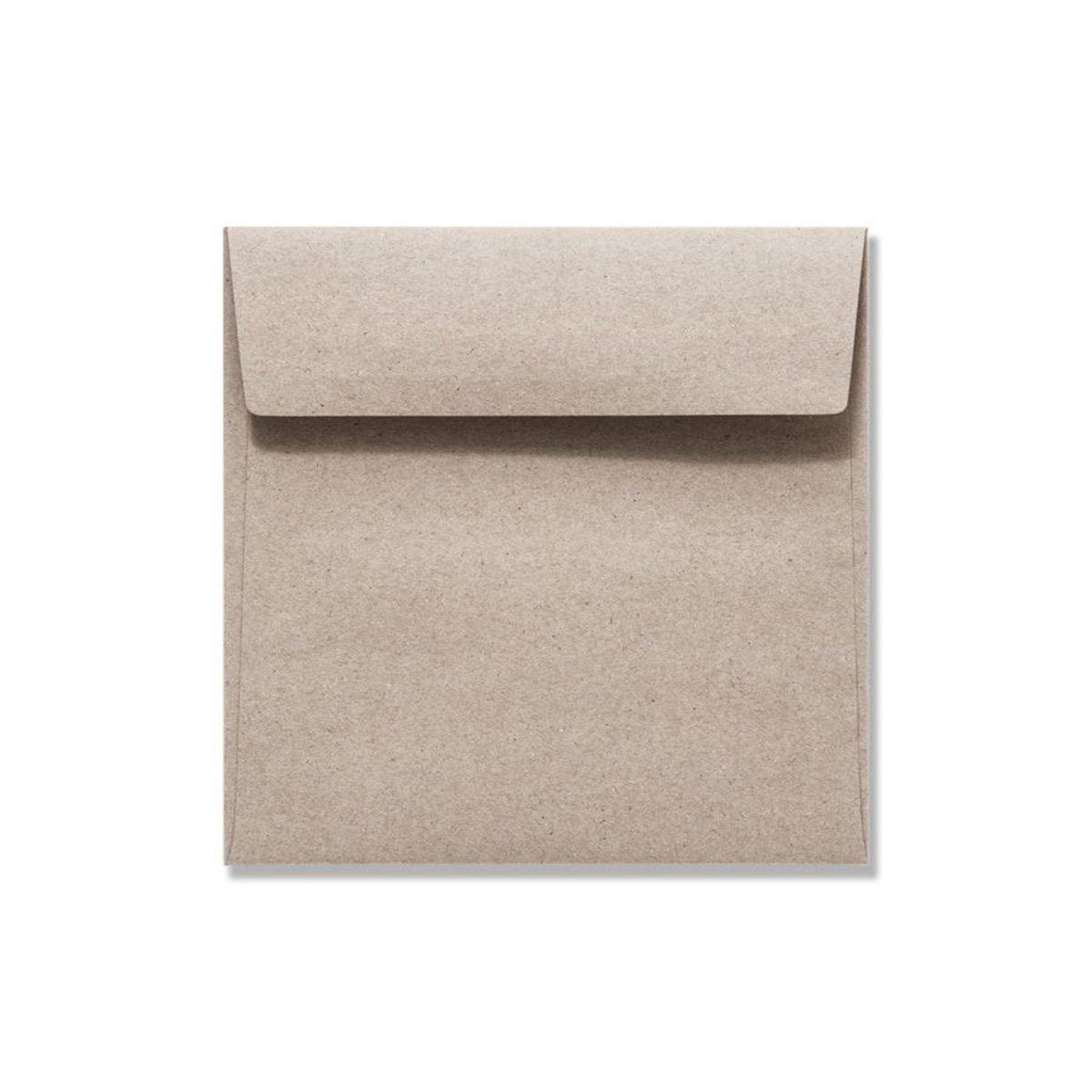 150 SETS Kartenpaket quadratisch 16 x 16 cm I 50x 50x 50x Faltkarten, Recycling - Naturfarbe braun I 50x Umschläge in Naturfarbe wüstenbraun B07P5T173X | Jeder beschriebene Artikel ist verfügbar  aa87ce