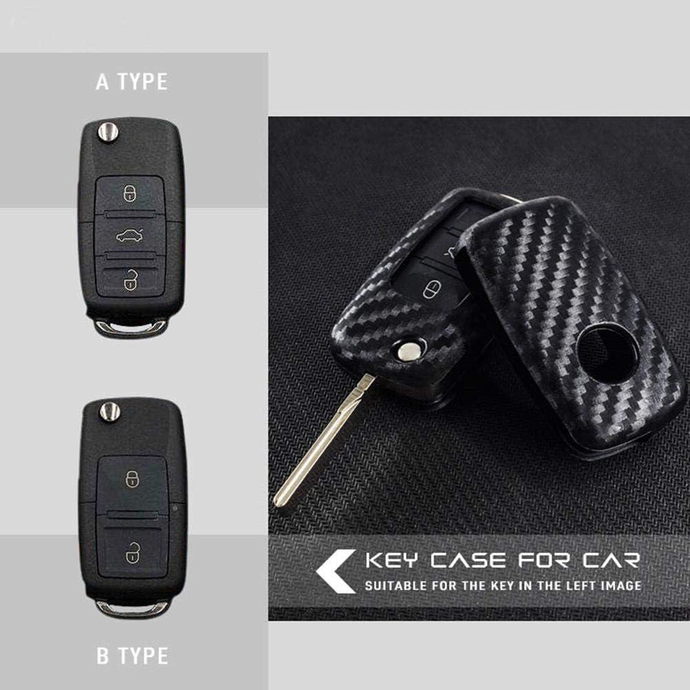 with Hook 1 Pcs WXGY Coque de cl/é Pliable pour Volkswagen Polo Tiguan VW Passat pour Skoda MK5 T5