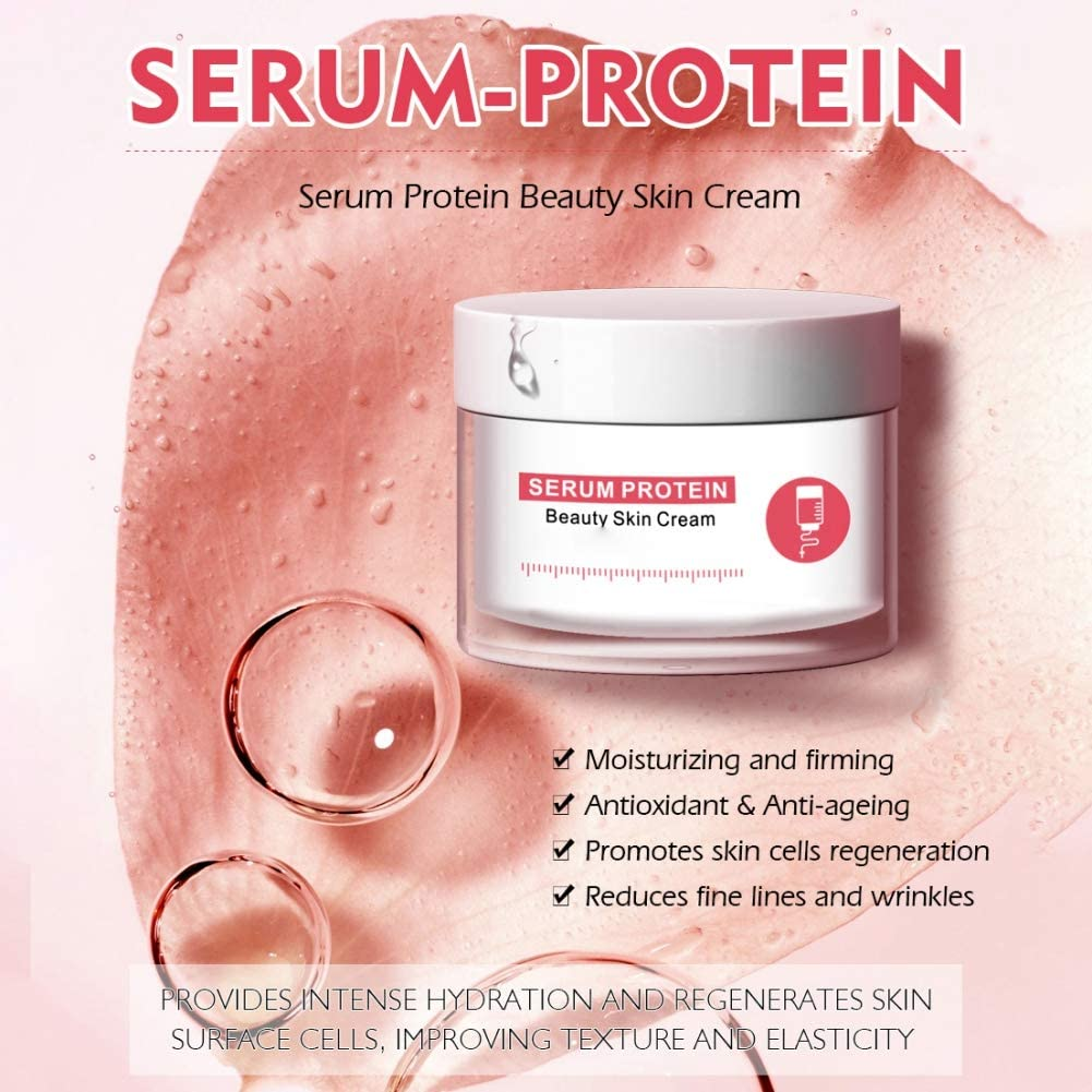 Sérum de proteína, reparador, crema facial, antiarrugas ...