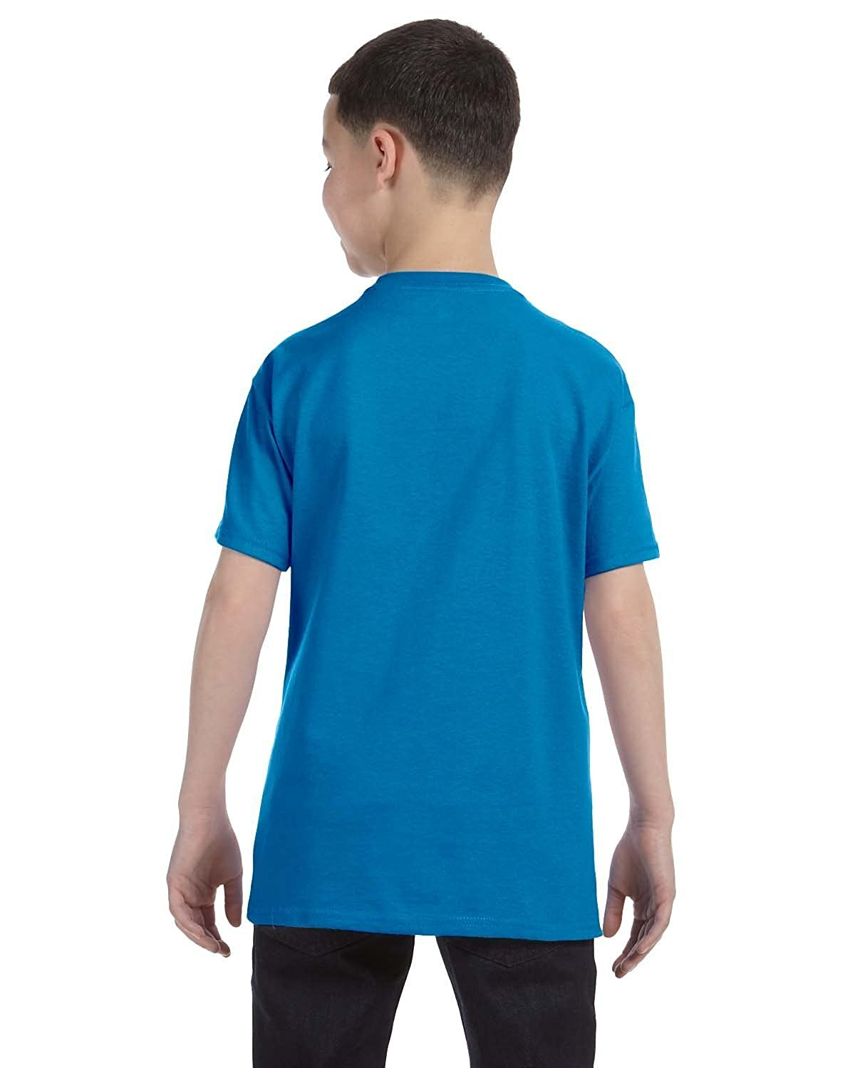 Small Hanes Boys 5 Pack Ultimate Comfortsoft Crew Sapphire