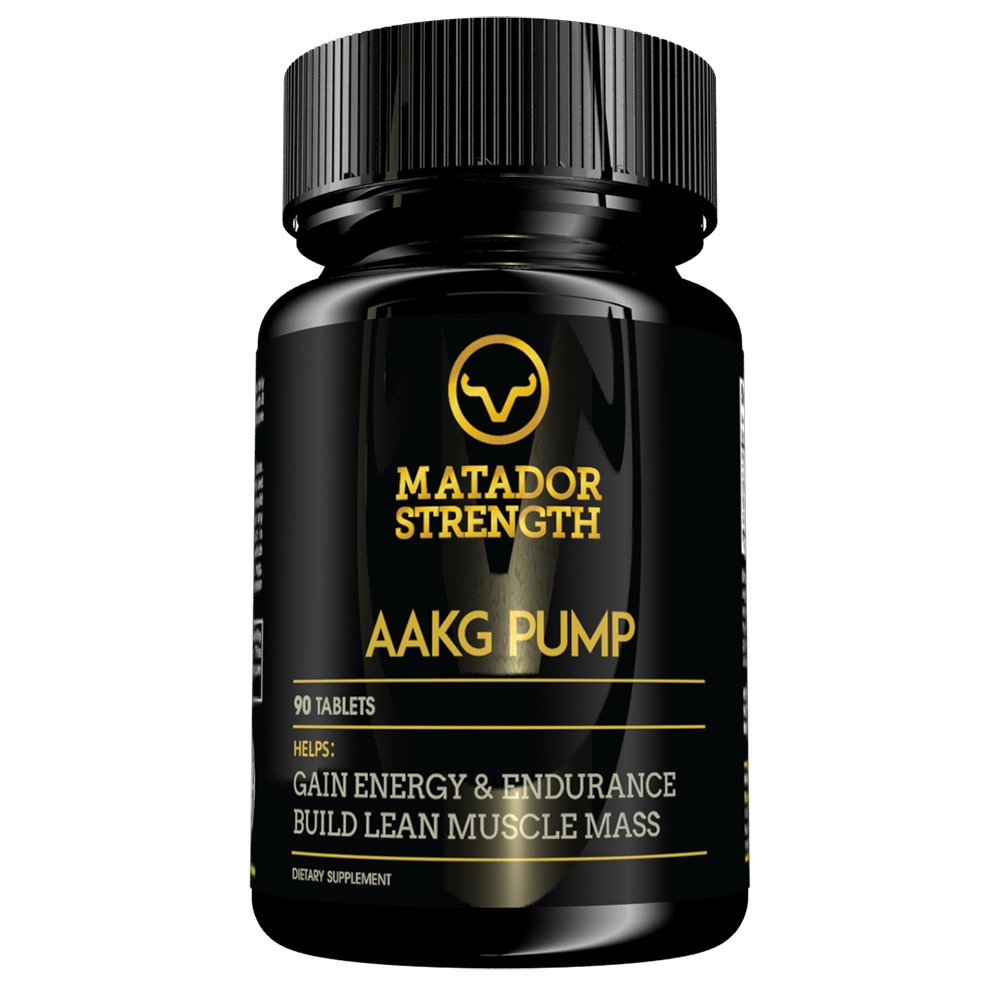 AAKG Pump Amino Acid Arginine Pre Workout Supplement, Increase Nitric Oxide N.O., Build Lean Muscle at Crossfit and Bodybuilding, Weight Lifting Performance, Massive Gains, Energy Booster – 90 Tablets