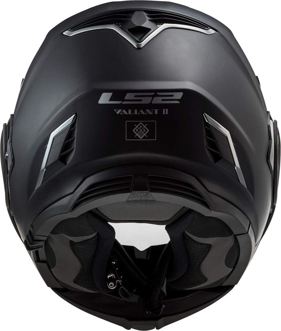 LS2 Motorradhelm FF900 VALIANT II SOLID MATT BLACK Schwarz XL