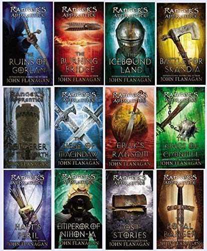 The Ranger's Apprentice Series (Complete 12 Book Set)  by BMI Educational