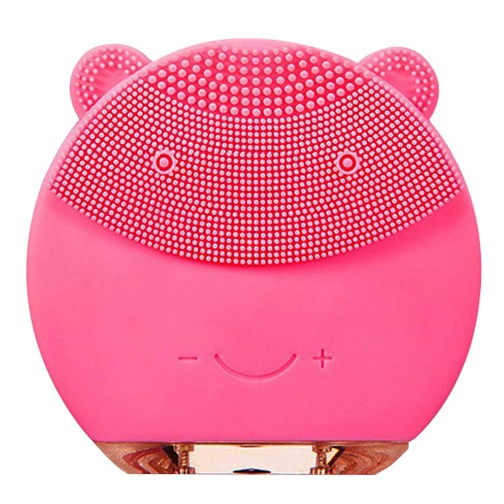 Facial cleansing brush Facial Cleaner, Facial Cleansing Brush, Electric Cleansing Instrument, Waterproof Facial Rotating Brush Set, Complete Area Exfoliating Spa System in Zone 3 Clean Area for