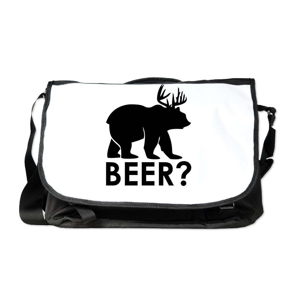 Truly TeagueラップトップNotebookメッセンジャーバッグ鹿Plus Bear Equalsビール。 B06XRWMSQ1