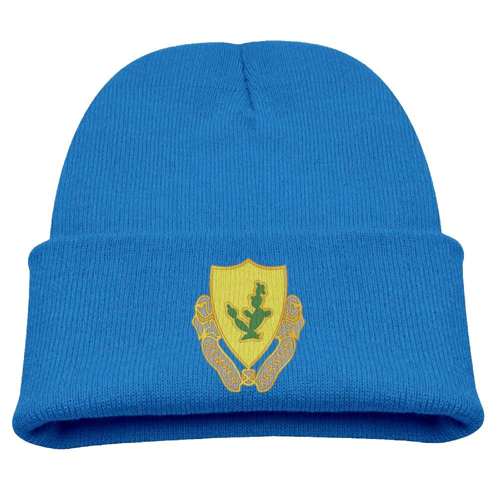 Banana King US Army 12th Cavalry Baby Beanie Hat Toddler Winter Warm Knit Woolen Cap for Boys//Girls