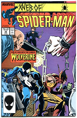 WEB of SPIDER-MAN #29, VF/NM, vs Wolverine, Black costume, more Marvel in store