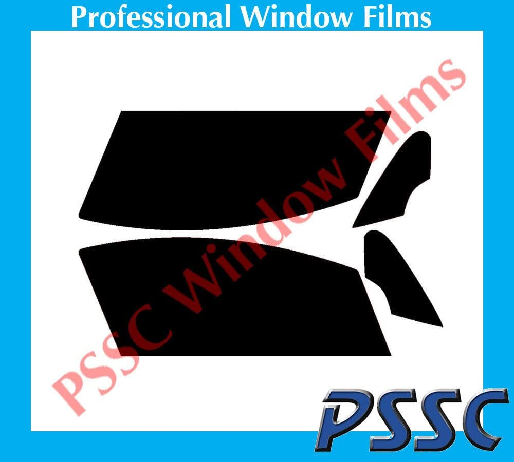 PSSC Pre Cut Front Car Window Films for Peugeot 307 CC 2003 to 2015 05/% Very Dark Limo Tint