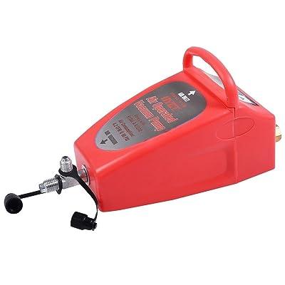 Goplus A/C Vacuum Pump, Pneumatic 4.2CFM Air Operated Vacuum Pump Air Conditioning System Tool Auto: Automotive